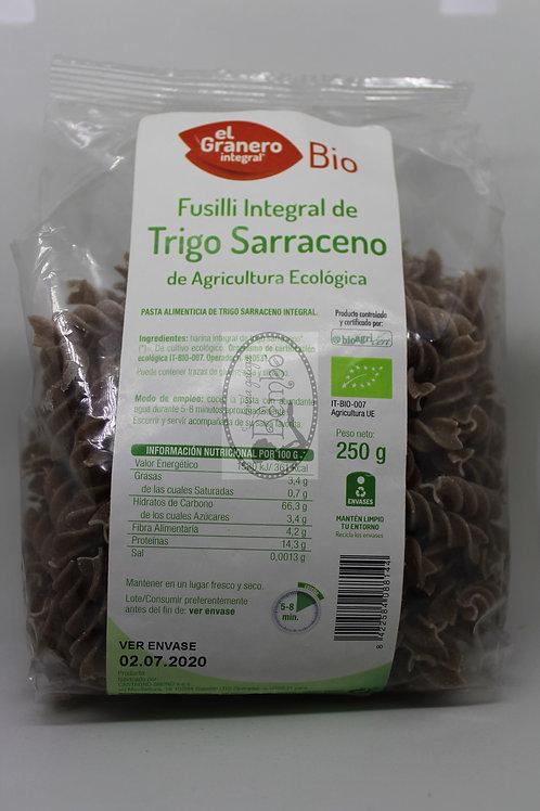 Fusilli Integral de Trigo Sarraceno 250gr