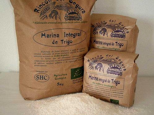 Harina integral de trigo 1 kg