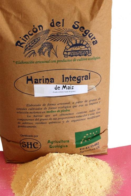 Harina integral de maiz 1 kg