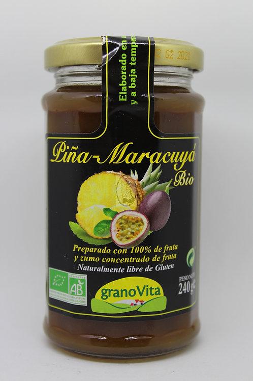 Mermelada de Piña y Maracuya Bio Granovita 240 gr