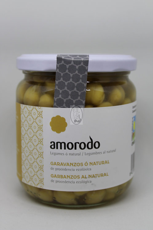 Garbanzos al natural Amorodo 345 gr