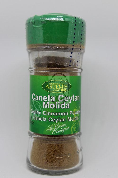 Canela Ceylan Molida Artemis 25 gr.