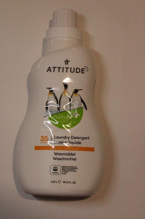 Detergente textil Citrus Zest Attitude 1 L