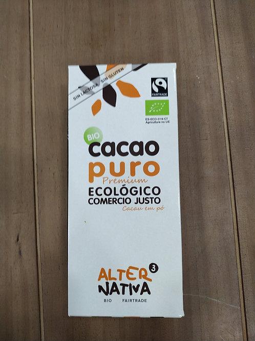 Cacao puro 150 gr Comercio Justo