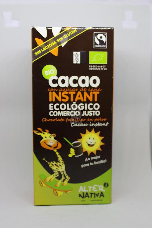Cacao instantaneo con azúcar de caña 250 gr.