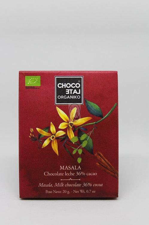 Masala - Chocolate con leche 36% cacao