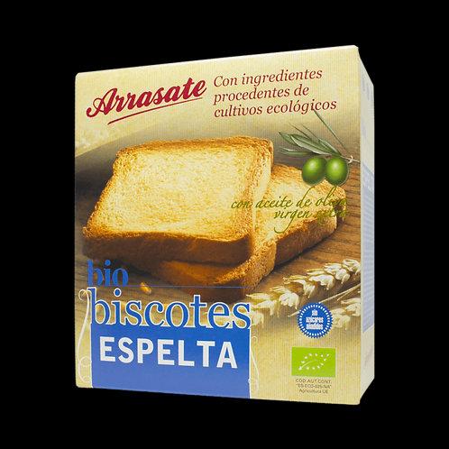 Biscotes de Espelta Bio, 270 gr - Arrasate