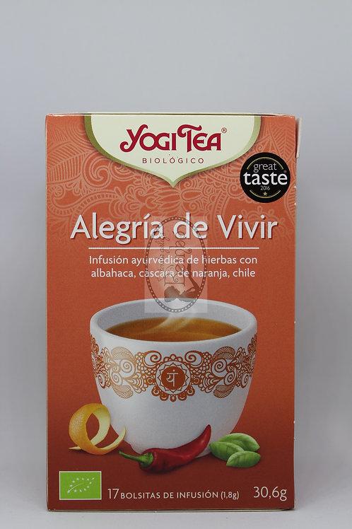 Yogi Tea Alegría de Vivir