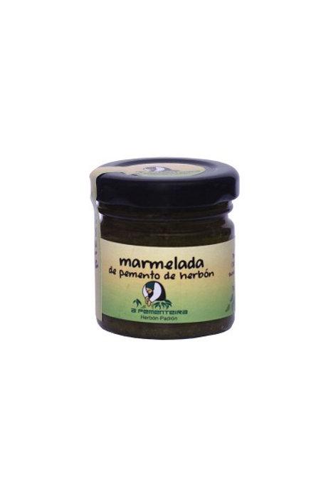 Mermelada de Pimientos de Herbón Picante 40 gr