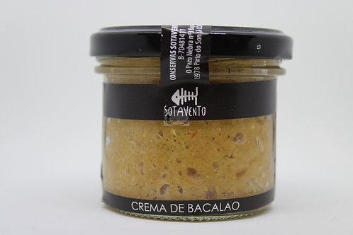 Crema de bacalao sotavento