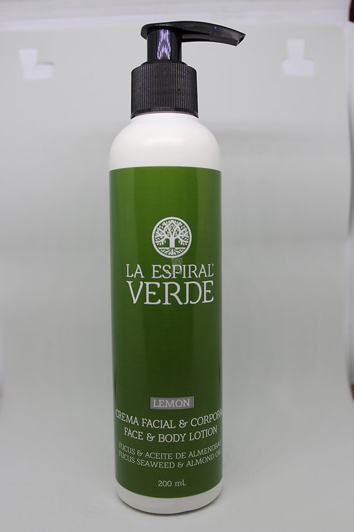 Crema Algas Facial Y Corporal De Limón 200ml