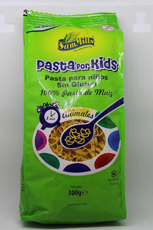 Pasta de maíz animalitos 300 gr