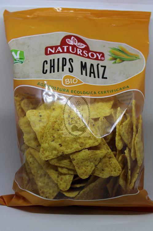 Chips de maiz Natursoy 125 gr