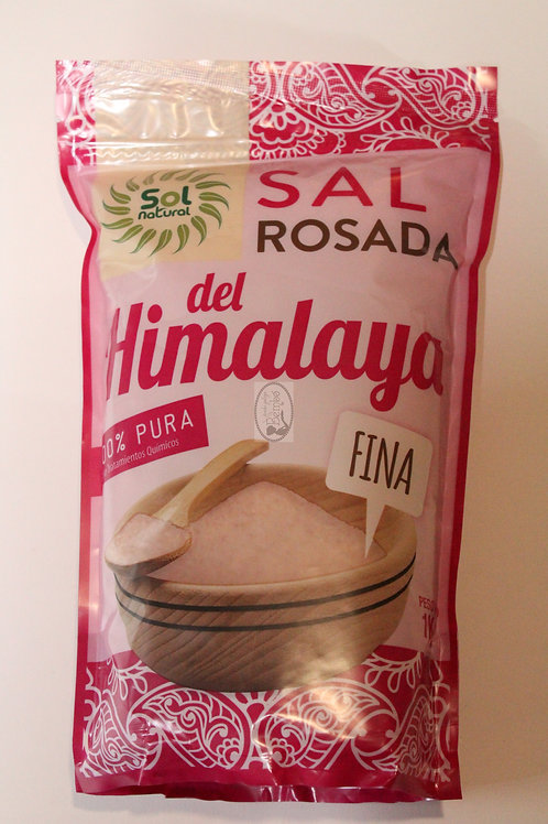 Sal rosada del Himalaya fina, Sol Natural 1kg