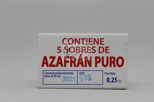 Azafrán puro molido 0,25 Gr