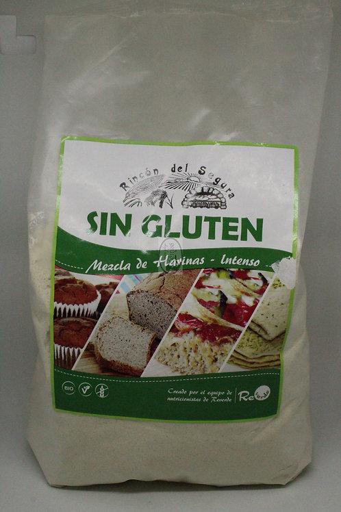 Mezcla de harinas bio sin gluten Intenso 1 kg