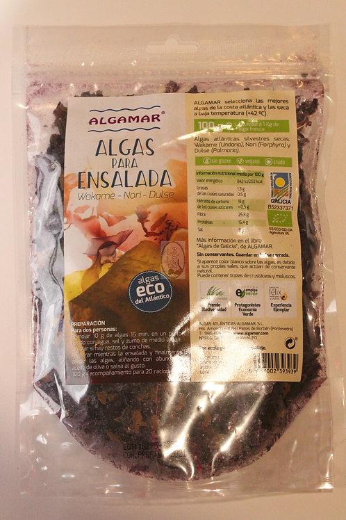 Algas para ensalada 100 gr Algamar