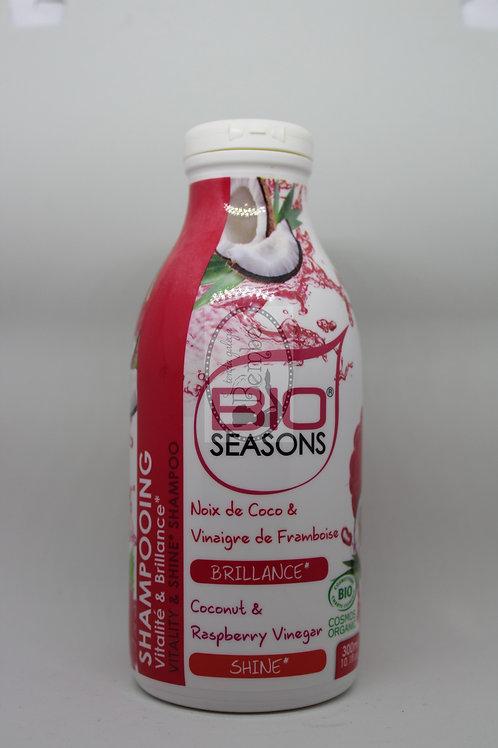 Champú brillo y vitalidad coco y frambuesa 300 ml