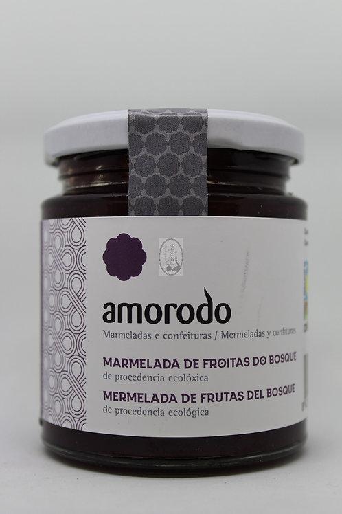 Mermelada de frutas del bosque Amorodo