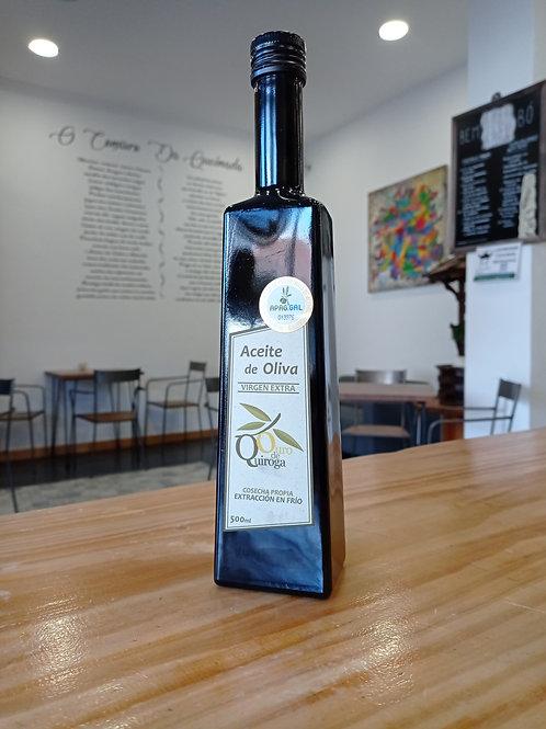 Aceite de oliva virgen plurivarietal 500 ml Ouro de Quiroga