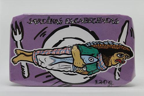 Sardinas escabechadas La gondola