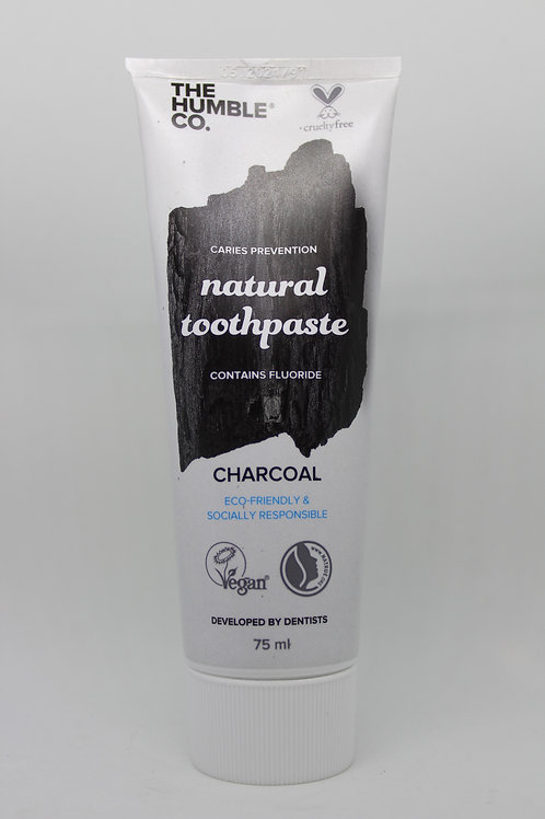 Pasta de dientes  Natural Charcoal The Humble Co 75 ml