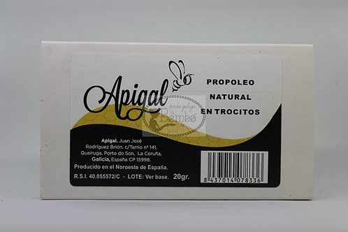 Propóleo natural en trocitos 20 gr.