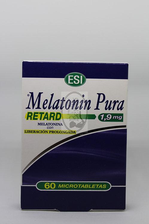 Melatonina Pura Retard 1,9 mg