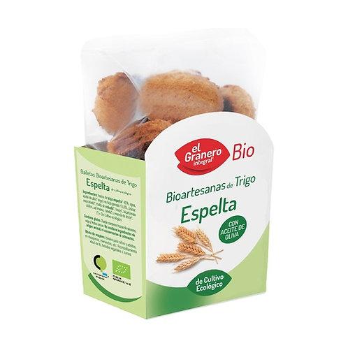 Galletas Bio Artesanas de Espelta