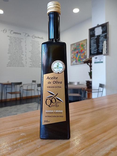 Aceite de oliva Virgen Extra 500 ml Ouro de Quiroga