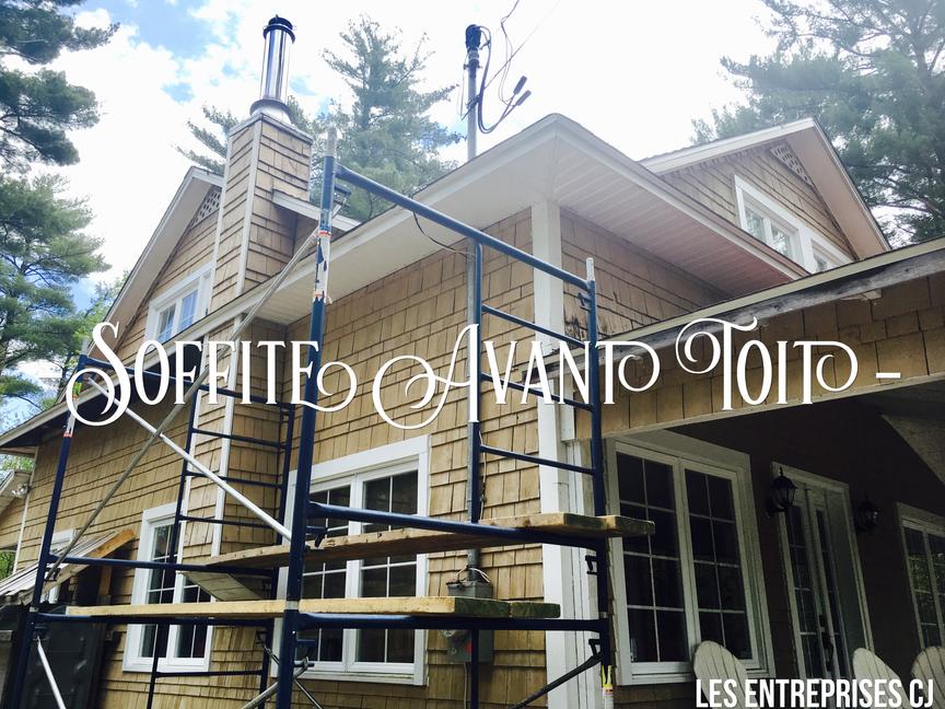 Soffite & avant-toit à Joliette Lanaudière