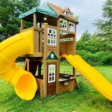 Jeu enfants - Installation et assemblage