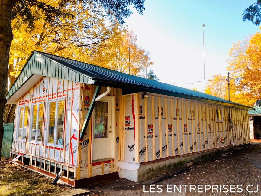 Revêtement extérieur Berthierville, Joliette