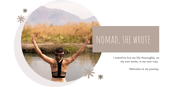 Heather DuBrall, Adventure Storyteller of Nomad, She Wrote