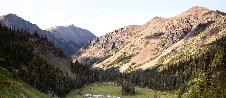 Backpacking in Olympic National Park - Photos from a Sunrise in Solitude