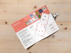 Tri Fold Brochure MockUp 2