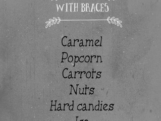 Quick Guide- Foods to Avoid With Braces