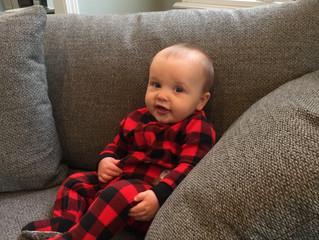 Meet Beckham- Dr. & Mrs. Finkelmeier's son!
