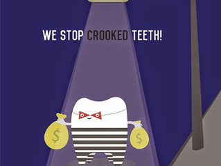 We stop CROOKED teeth!