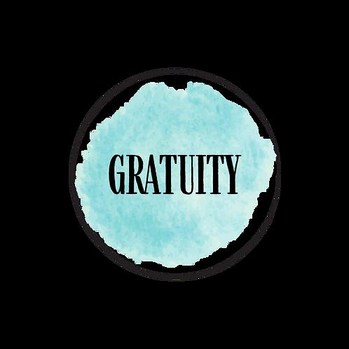 ADD GRATUITY