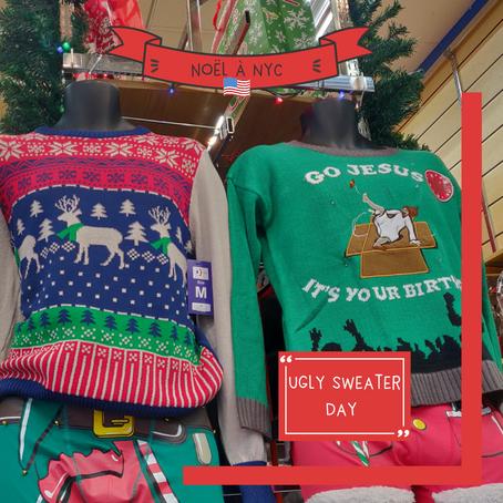 "Journée internationale du ""ugly sweater"" ou ""pull moche de Noël"""