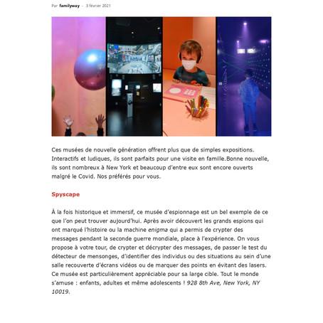 Trois musées ludiques et interactifs pour s'amuser en famille à New York