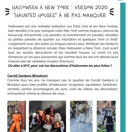 "Halloween à new york : version 2020, ""haunted houses"" à ne pas manquer."