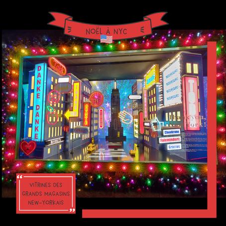 Vitrines des grands magasins, un incontournable des fêtes de fin d'année
