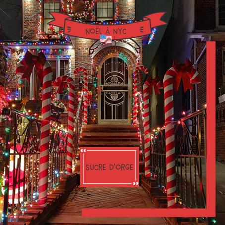 Le sucre d'orge est la confiserie emblématique de Noël à New York