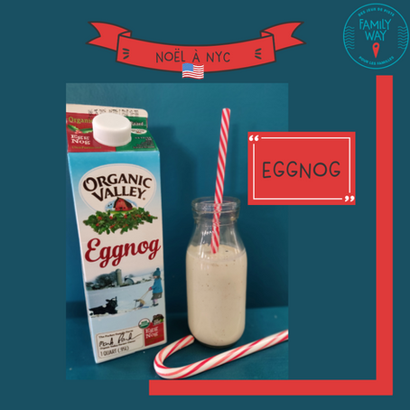 Cocktail de Noël aux Etats-Unis : l'eggnog ou lait de poule