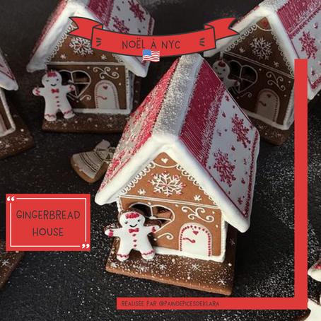 La Gingerbread house fait partie des traditions de Noël à NYC