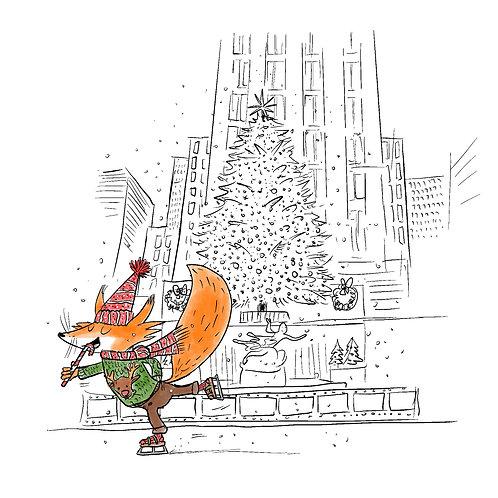 Noël à  New York, parcours Midtown à télécharger