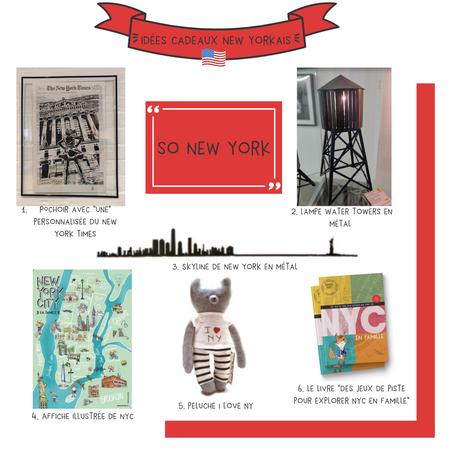 Idées cadeaux new-yorkais