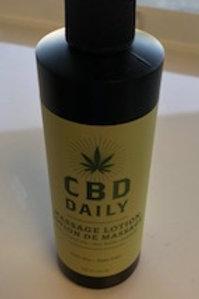 CBD Massage Lotion 8oz
